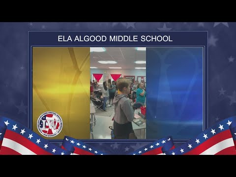 The Morning Pledge - Ela Algood Middle School - 10/22/19