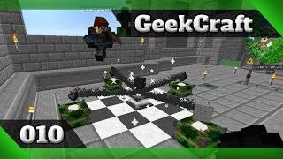 Minecraft 1.10.2 modded GeekCraft Ep10 - Empowerer [Actually Additions] [PT/BR]