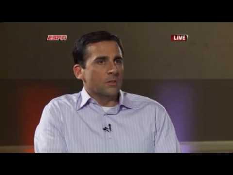 "ORIGINAL ESPYS 2010 Steve Carell & Paul Rudd Parody Of Lebron's ""The Decision""  (Lebron James Spoof)"