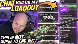 I LET MY CHAT BUILD MY LOADOUT! FT. COURAGEJD, MARSHMELLO & NADESHOT