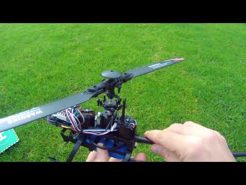 🐵 WLToys V 950 RC Helicopter Flight out of the BOX  😞 Disappointing results 😞  HD