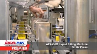 Ideal-Pak AE2-CJM Automatic Net Weight Liquid Filling Machine