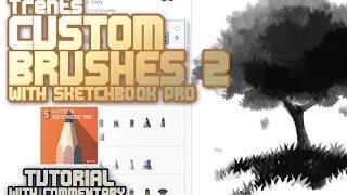 Sketchbook Pro Custom Brushes Tutorial 2