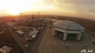 Баскет-Холл, Ледовый Дворец, Строительство Олимпийского Бассейна. Краснодар