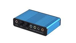 Usb To 5.1 External Sound Card PD550 CM6206LX Driver