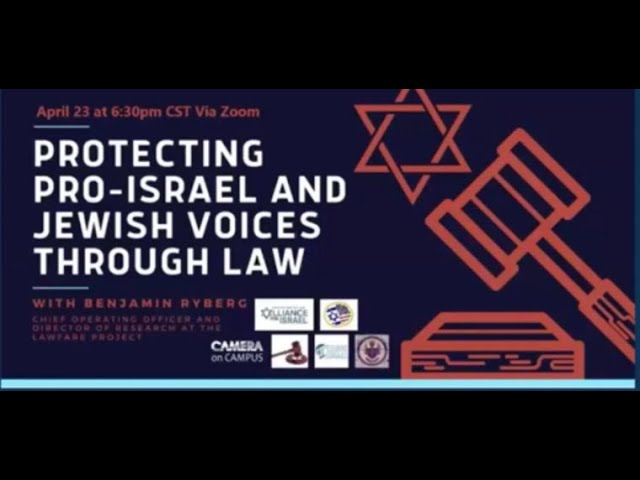 Protecting Jewish Voices Through Law with Benjamin Ryberg from the Lawfare Project