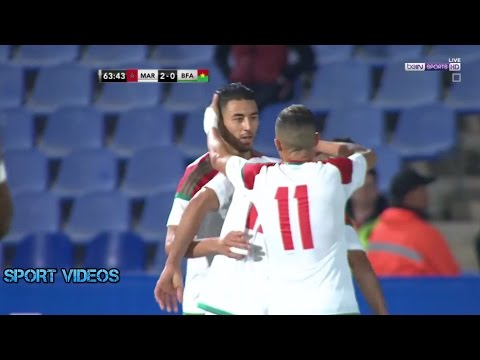 أهداف مباراة المغرب و بوركينافاسو 2-0 بتعليق جواد بادة || مباراة ودية ||