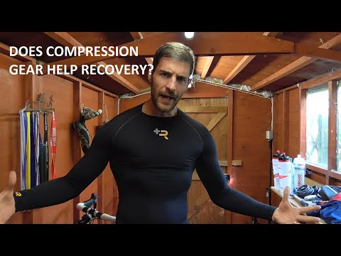 Does compression gear help recovery? Sub Sports compression recovery top review