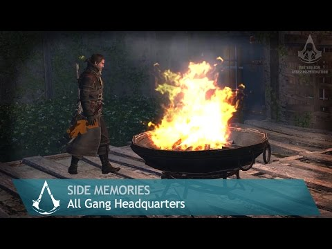 Assassin's Creed: Rogue - Side Memories - All Gang Headquarters
