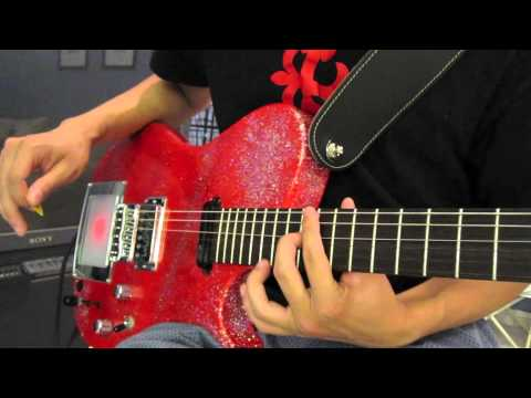 Unsustainable (The 2nd Law Trailer) [MUSE HD Guitar Cover]  - Manson Red Glitter Replica