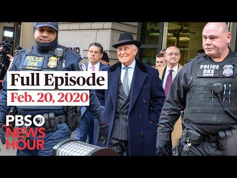 PBS NewsHour West live episode, Feb 20, 2020