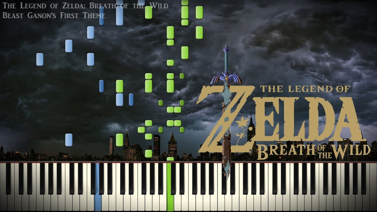 Synthesia Piano Zelda Breath Of The Wild Beast Ganon First Theme Solo