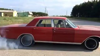 1966 Ford Galaxie Burnout
