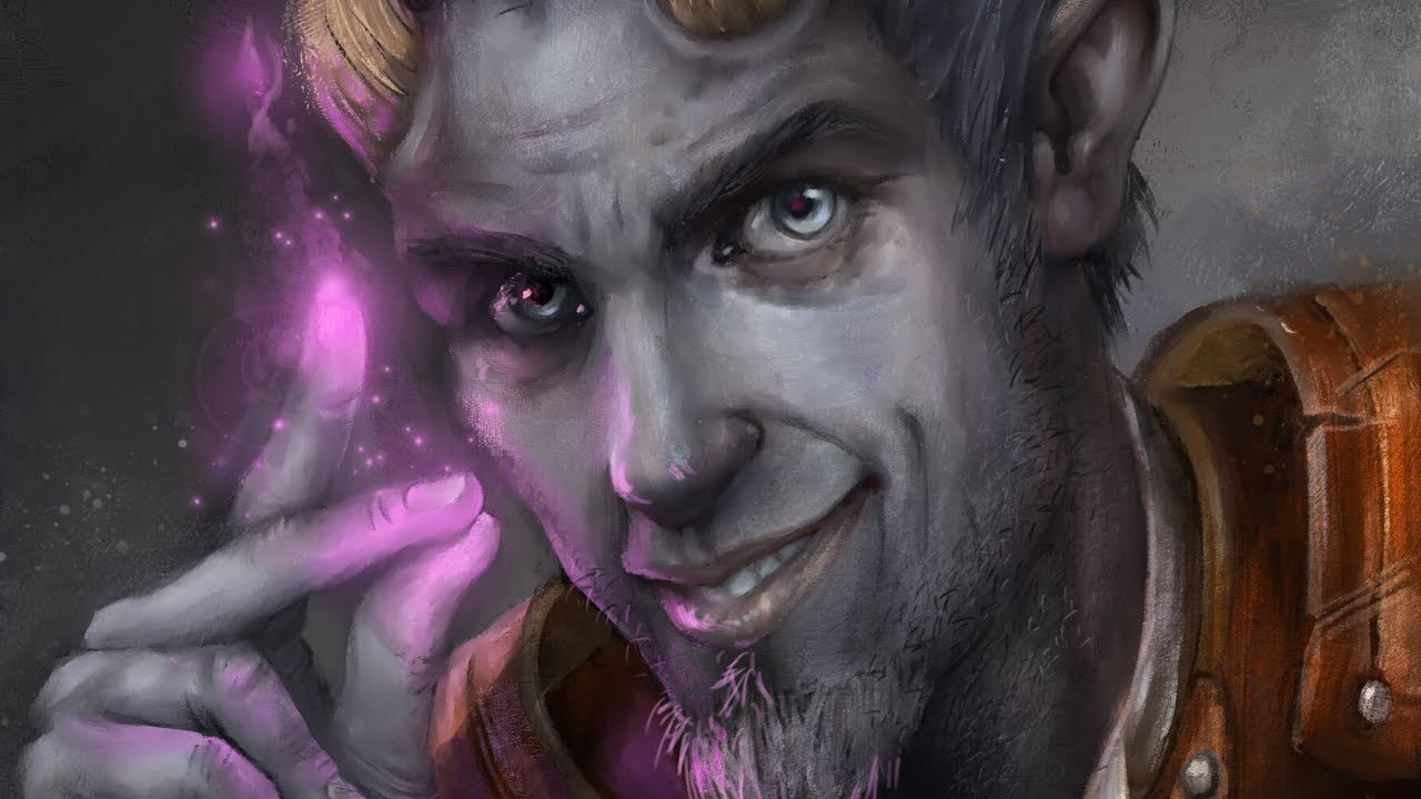 Painting A Tiefling Warlock Portrait For Our Dnd Group Youtube Warlocks in dungeons and dragons 5th edition are a very strong class, and in this. painting a tiefling warlock portrait