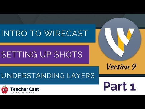 Wirecast Version 9: A Complete Walkthrough and Introduction to Live Broadcasting (Part 1)