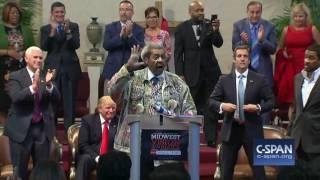 Don King introduces Donald Trump (C-SPAN)