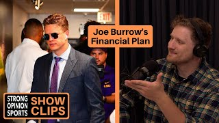 Reacting To Joe Burrow's Financial Plan