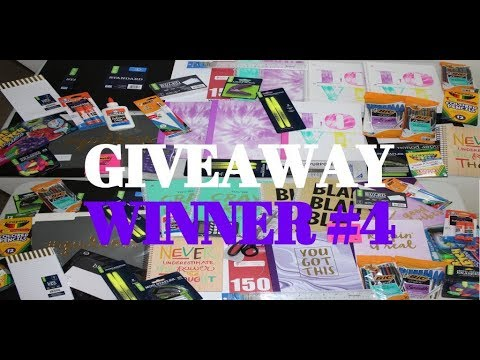 BACK TO SCHOOL GIVEAWAY 2018 (4 OF 4) WINNER   JANSPORT BOOK BAG FILLED WITH SUPPLIES !!!!
