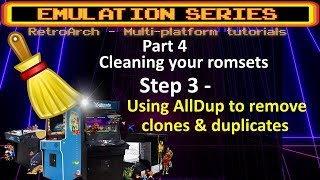 DETAILED Romset cleaning tutorial - STEP 3 - Using AllDup to check and delete duplicates & clones