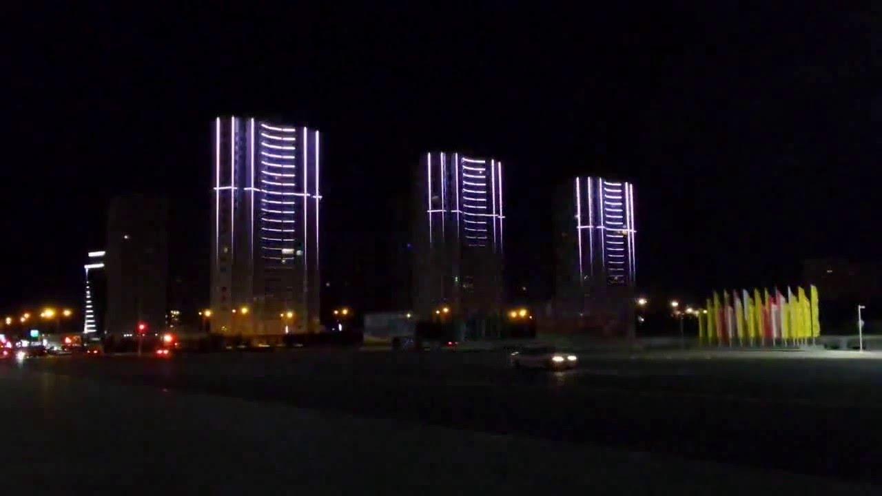Динамичная подсветка фасадов зданий