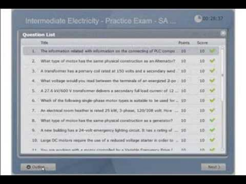 Intermediate Electricity - Practice & Calculations - Electrician ...