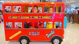 We are in the Bus, Wheels On The Bus | Song Nursery Rhymes Anabella Show