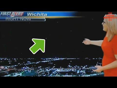 🛸 UFO zischt LIVE durch Wettervorhersage 😱