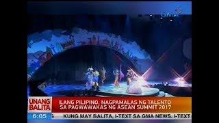 UB: Ilang Pilipino, nagpamalas ng talento sa pagwawakas ng ASEAN Summit 2017