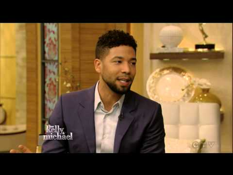 Jussie Smollett entire interview 2016/Jamal Lyon - (EMPIRE) - live with kelly and michael 2016