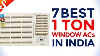 7 Best Window ACs in India with Price (1 Ton)