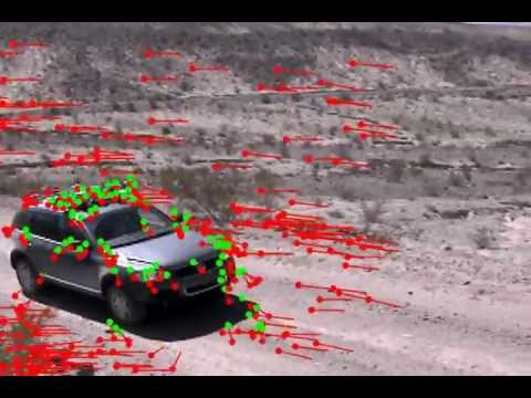 Car Tracking Using Optical Flow OpenCV YouTube