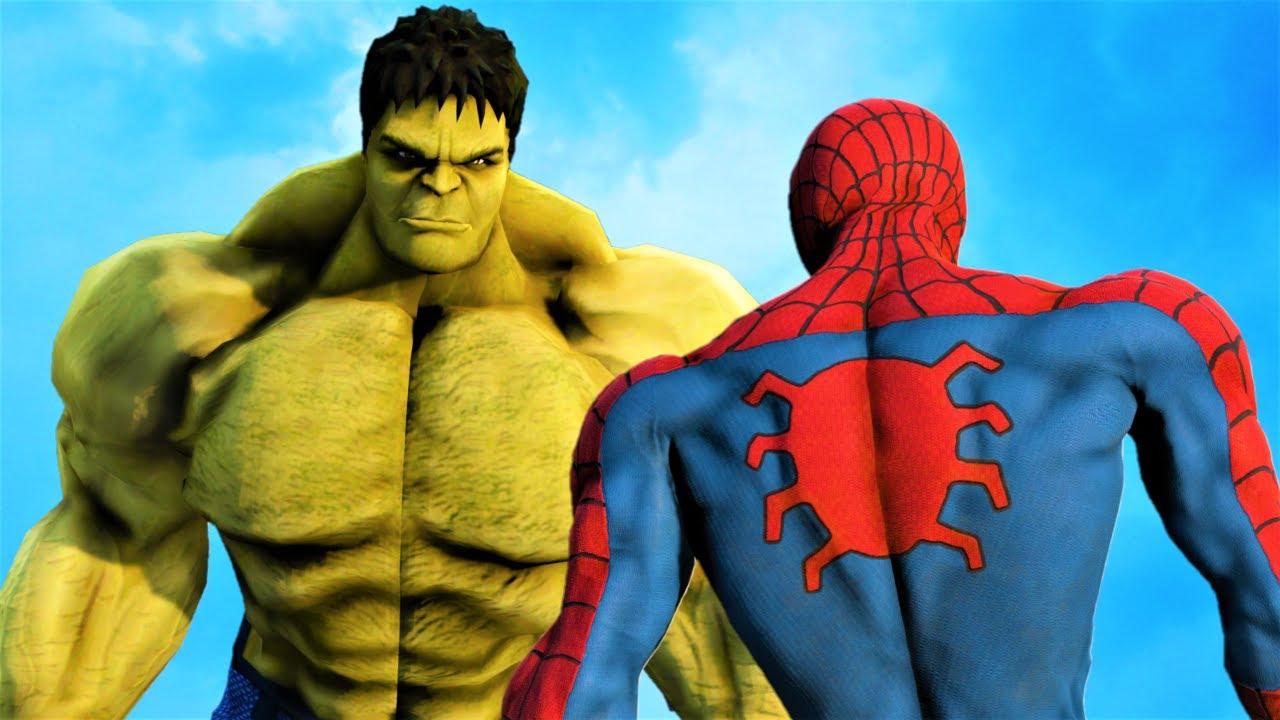 Download BIG HULK VS SPIDERMAN - THE INCREDIBLE HULK VS SPIDER-MAN 2002