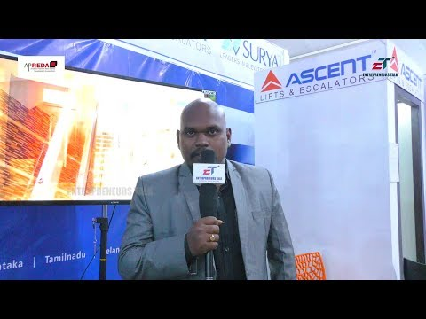 Praveen Kumar RC Business Executive Ascent at APREDA Property Show Guntur 2017 - Entrepreneurs Talk