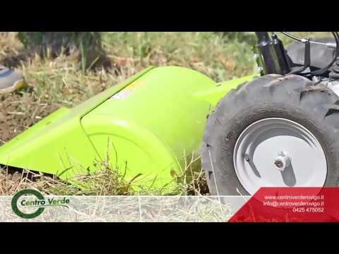 Motocoltivatore Grillo G46 con fresa controrotante