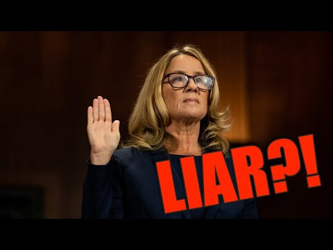 **MUST SEE** Felony perjury charges looming for Dr. Blasey-Ford!