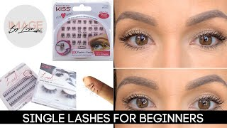 SINGLE LASHES FOR BEGINNERS