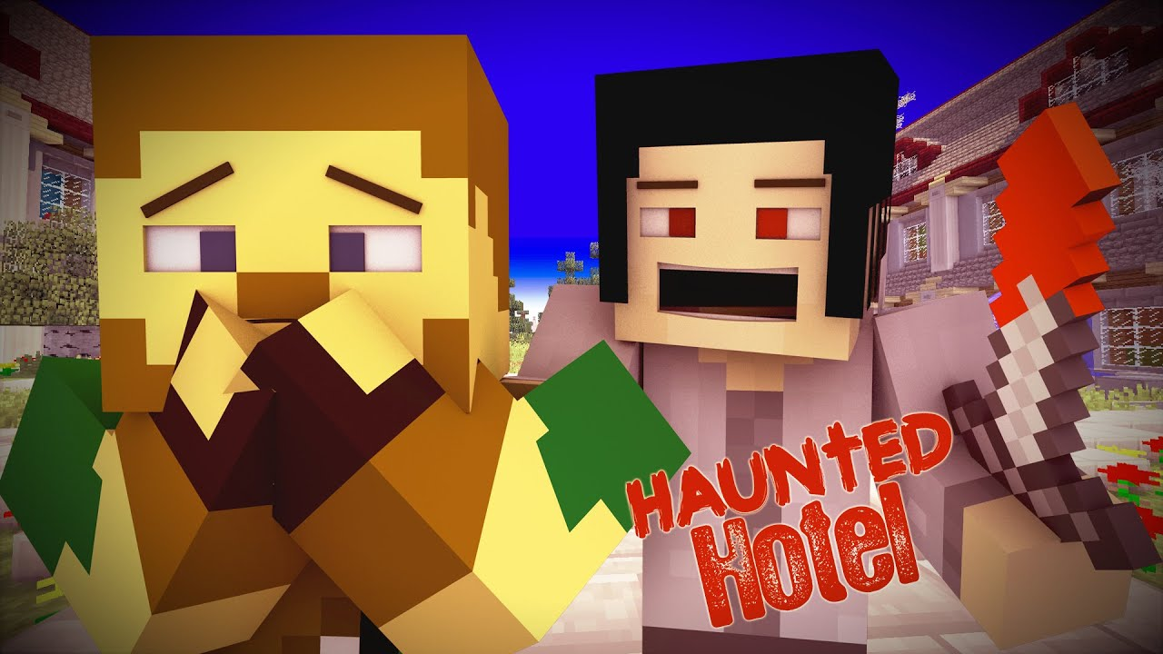 "Haunted Hotel "" Killed Minecraft Roleplay"