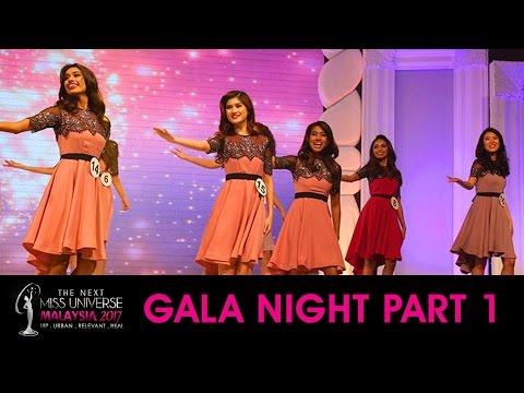 Miss Universe Malaysia 2017 Gala Night Part 1