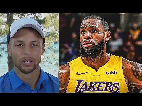 Stephen Curry Warns LeBron James After Joining Lakers!