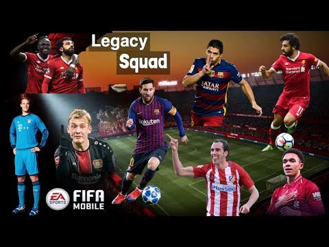 Building The Best LEGACY TEAM In FIFA MOBILE 19