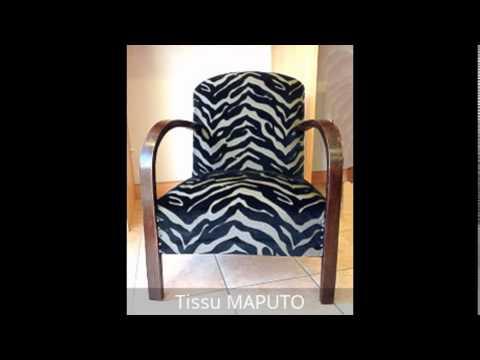 Tissus et fauteuils art d co ann es 30 youtube - Fauteuil annee 30 art deco ...