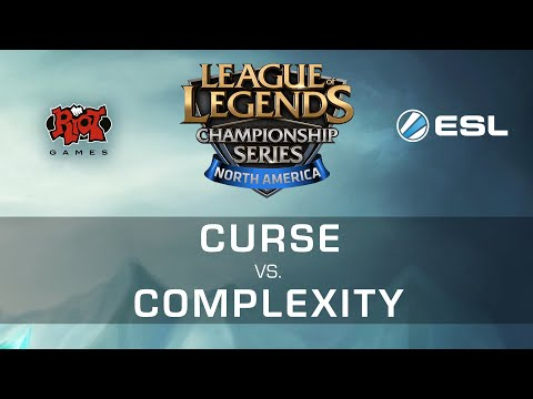 Complexity White vs. Curse Academy - NA LCS Expansion Tourna