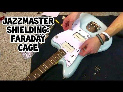 Jazzmaster Shielding: Faraday Cage