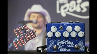 Paisley Drive Deluxe pedal demo from Wampler, Brad Paisley's new signature overdrive pedal
