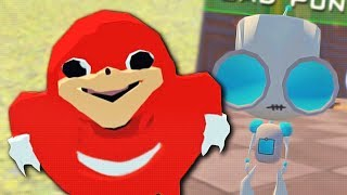 TAKING DOWN THE UGANDAN KNUCKLES TRIBE (VR Chat Funny WTF Moments) | Whos Chaos