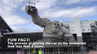 Dover's Monster gets a new car