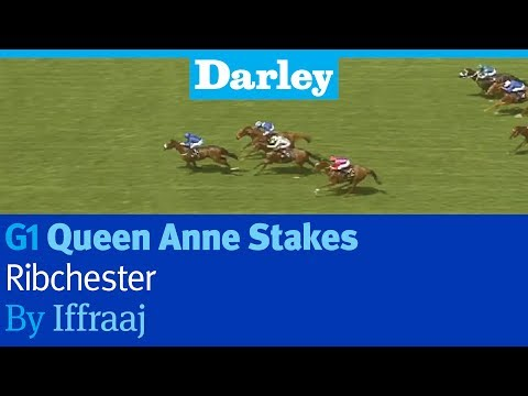 Ribchester by Iffraaj wins the G1 Queen Anne Stakes at Royal Ascot