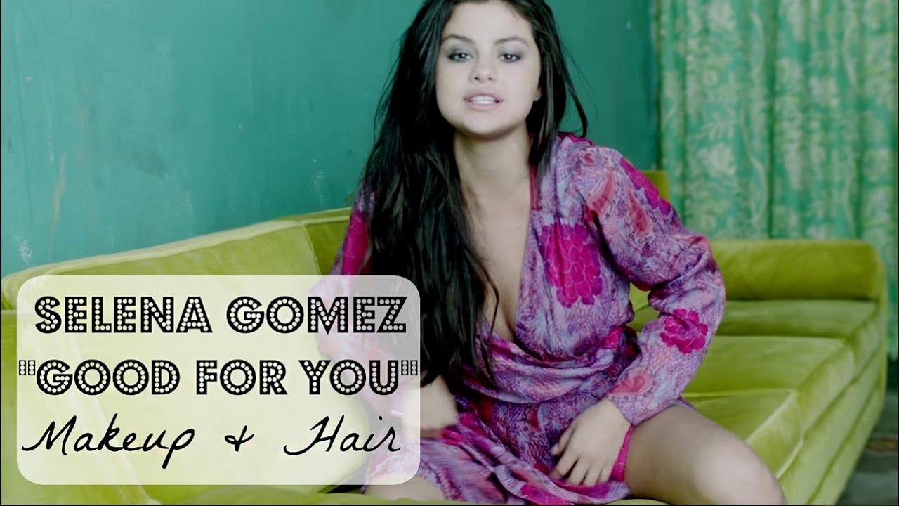 Selena gomez hair no heat with selena gomez good for you makeup hair
