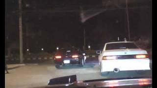 200SX SR20DET GT28RS Driving at Night