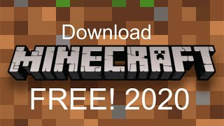 Get Minecraft for Free NO VIRUS!